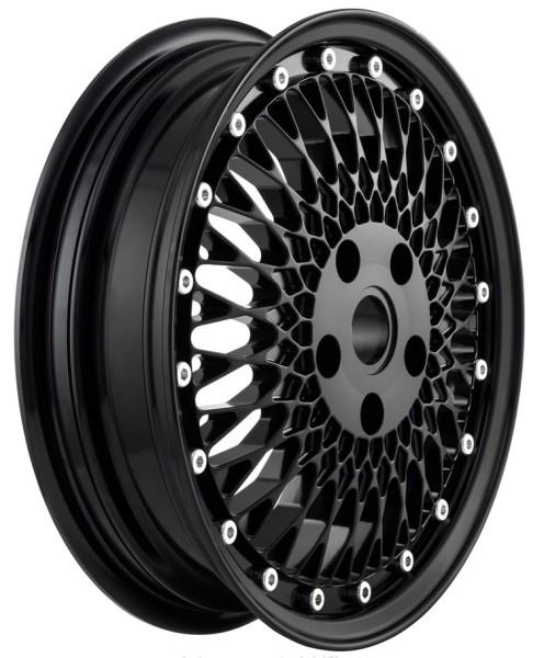 Llanta Comb 1 delante/atrás para Vespa GTS/GTS Super/GTV/GT 60/GT/GT L/946 125-300ccm, negro brillante
