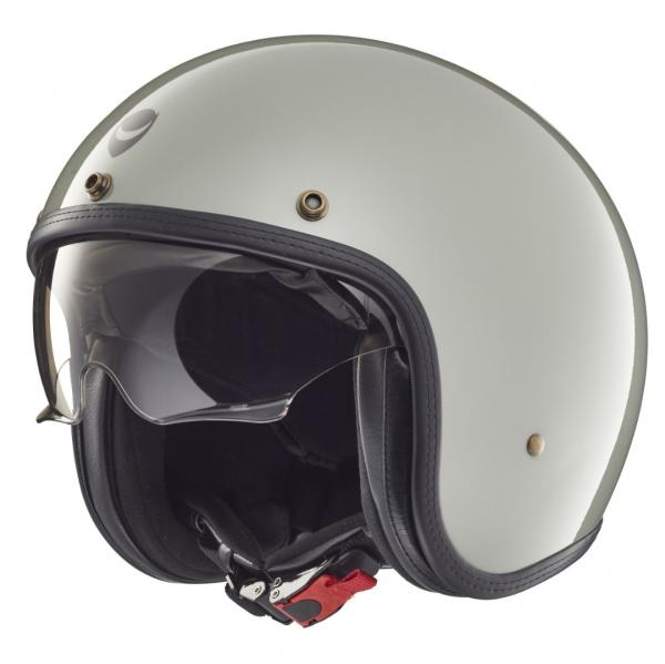 Helmo Milano casco jet, Audace, gris