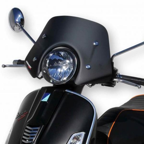 Pantalla Piccolo para Vespa GTS/GTS Super/GT/GT L 125-300ccm, negro mate