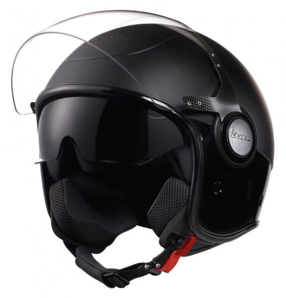 Vespa VJ Helmet negro / negro