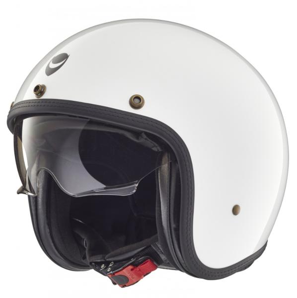 Helmo Milano casco jet, Audace, blanco
