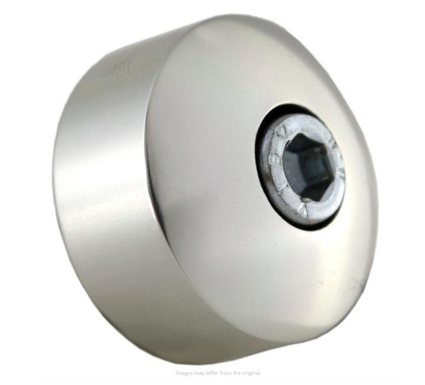 Kit de montaje para espejo extremo manillar sin contrapesos, plata