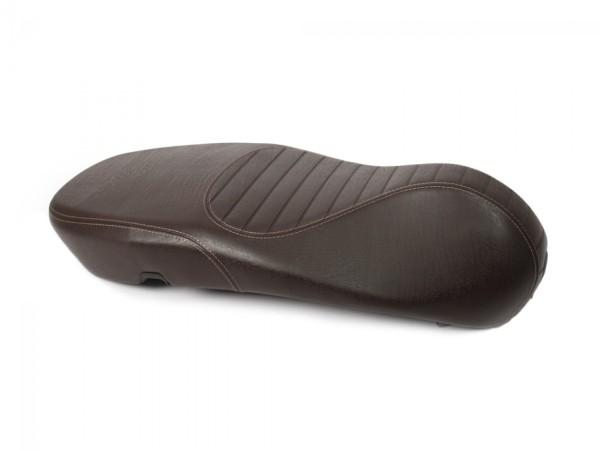 Asiento acolchado original de Vespa acolchado para Vespa Primavera / Sprint marrón