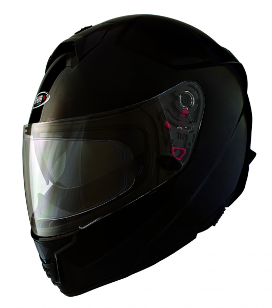 Shiro Casco Integral, SH351, Fiber, negro mate