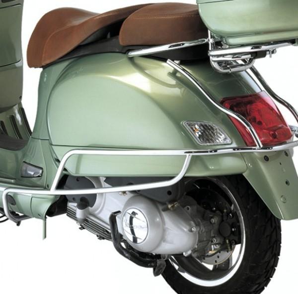 Barra de choque hinten, cromo para Vespa GTS, GTV, GTS Super