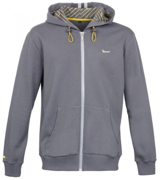 Vespa Graphic Sweatshirt hombre gris