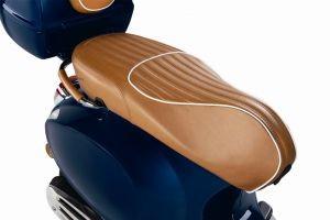 Luxury Line - realmente cuero asiento para Vespa Primavera