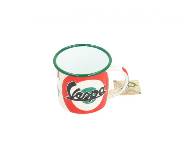 Vespa taza de esmalte The Italian Classic
