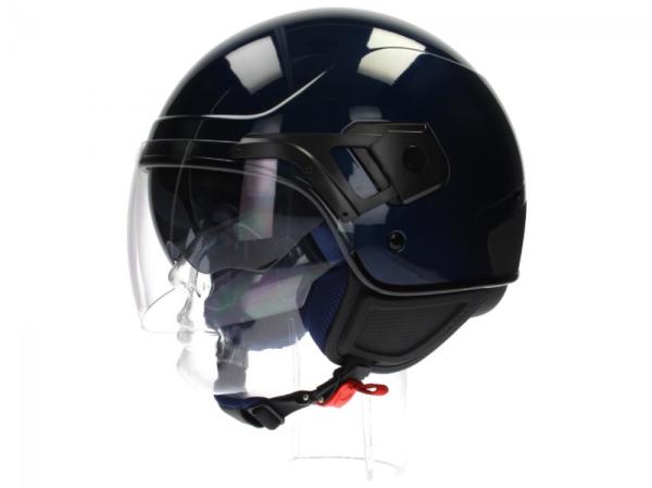 Piaggio casco PJ Jet azul