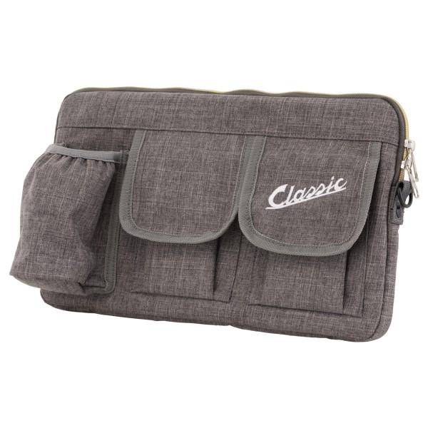 "Bolsa ""Classic"" para maletero / guantera Vespa - gris, nailon"