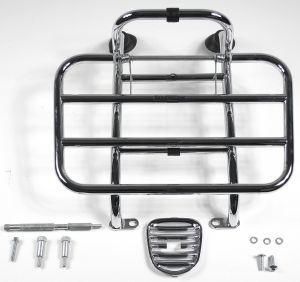 Original Portaequipaje delantero plegable cromado Vespa LX