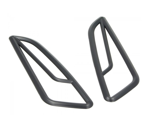 Rejilla indicadora, delantera, negra, para Vespa Primavera / Sprint 50-150