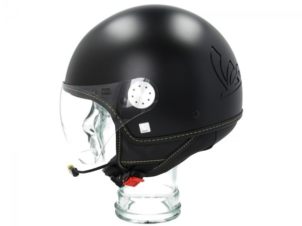 Vespa Jet Helmet Visor 3.0 Bluetooth negro
