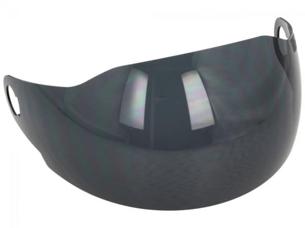 Visera (teñida) para casco abierto Vespa Sei Giorni
