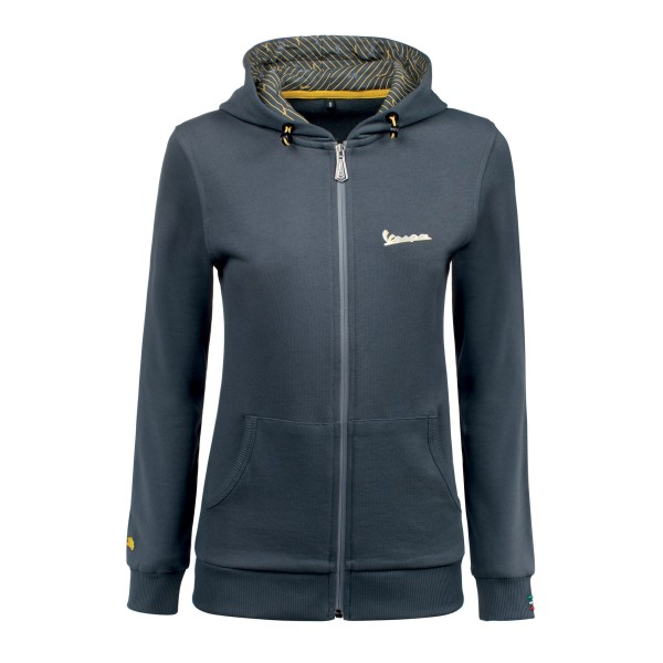 Vespa Graphic Sweatshirt mujer gris
