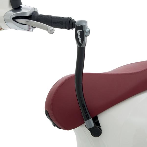 Original dispositivo antirrobo (asiento - manillar) reforzado paraVespa Primavera / Sprint / Elettrica