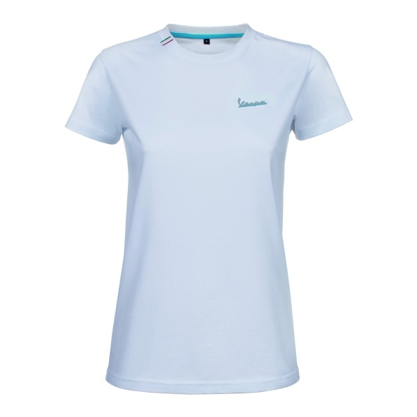 Vespa T-Shirt Graphic mujer blanco