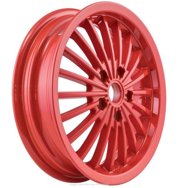 Llanta delante/atrás para Vespa GTS/GTS Super/GTV/GT 60/GT/GT L 125-300ccm, rojo