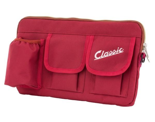 "Bolsa ""Classic"" para maletero / guantera Vespa - rojo, nailon"
